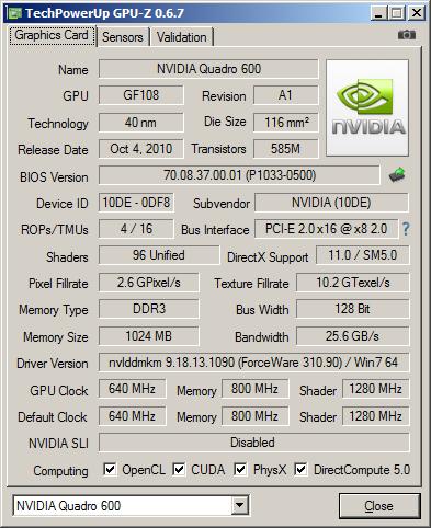 nVidia_Quadro_600_GPUz