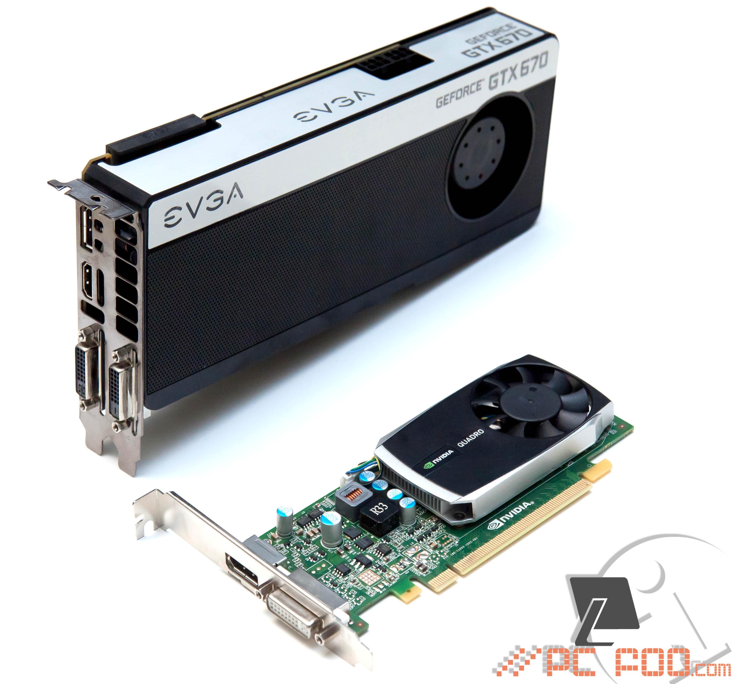 nVidia Quadro 600 | PC foo